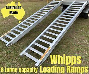 6Tonne-Capacity-Excavator-Aluminium-Loading-Ramps-3-5-Metres-x-500mm-track-width