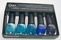 Quo By Orly Mini 5 Blue Pack