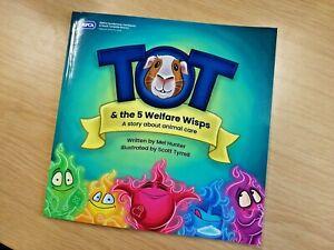 Tot & the 5 Welfare Wisps   Guinea pig book   Animal Book   RSPCA Sunderland