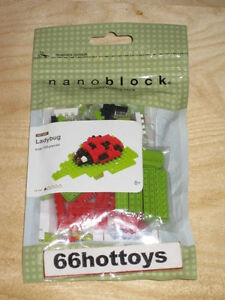 Lady bug Nanoblock Micro Sized Building Block Construction Toy Kawada IST/_007