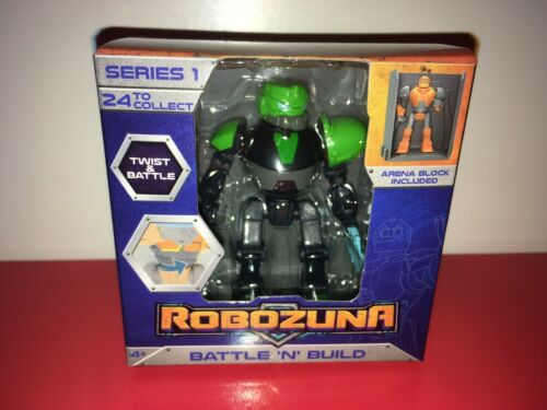 ROBOZUNA Battle N Build 6.5cm figures NEW IN BOX Choose your favourite
