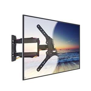 Full-Motion-TV-Wall-Mount-Swivel-Bracket-32-40-42-47-55-Inch-LED-LCD-Flat-Screen