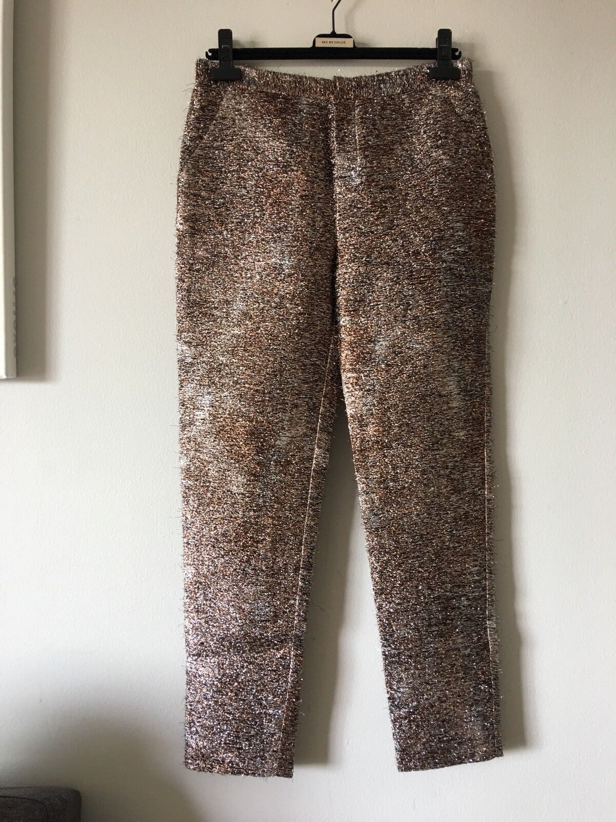 NWT PORTS 1961 TOBACCO MIX Farbe PANTS Größe 4 RARE AND UNIQUE LIGHTWEIGHT