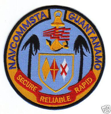 "/""SECURE US NAVY BASE PATCH NAVCOMSTA GUANTANAMO BAY CUBA RELIABLE RAPID    Y"