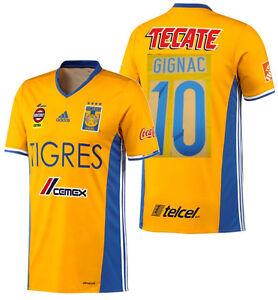 Adidas Andre-Pierre Gignac Tigres Uanl Domicile Jersey 2016/17