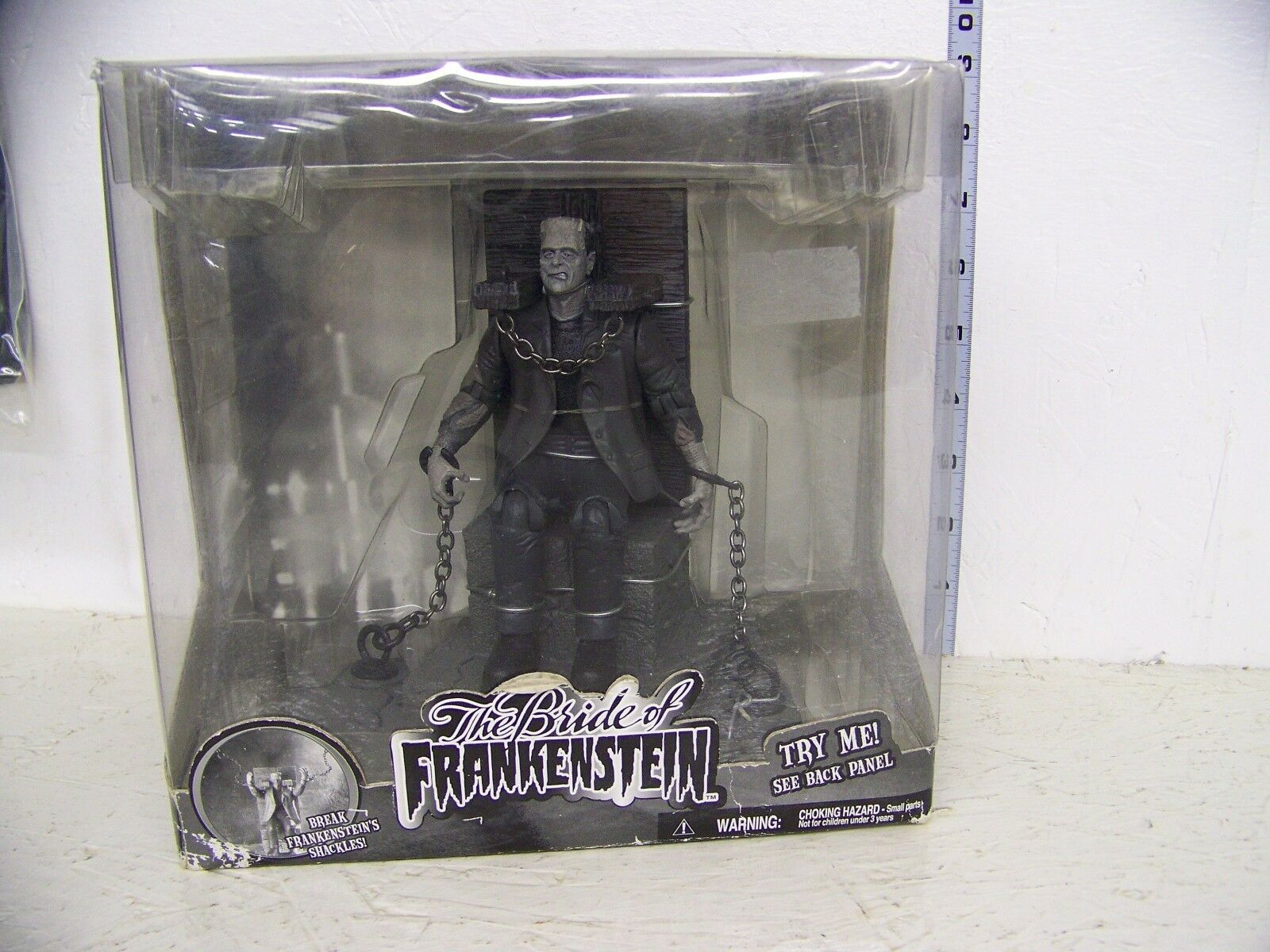 Jakks Pacific Universal Studios  Frankenstein  Figure schwarz and Weiß