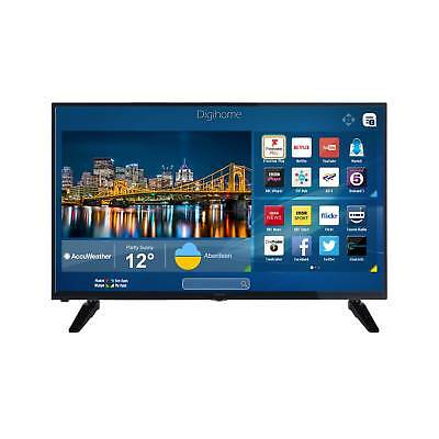 Digihome 50SFVPT2FHD 50 Inch Full HD Integrated WiFi Smart LED TV in Black