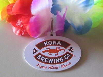 NEW Kona Brewing Co Soccer Ball Key Chain Bottle Opener Beer