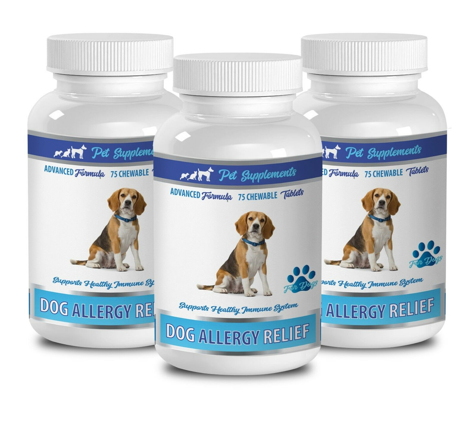 Dogs allergy relief - DOG ALLERGY RELIEF 3B- CHEWABLE - turmeric dog chews