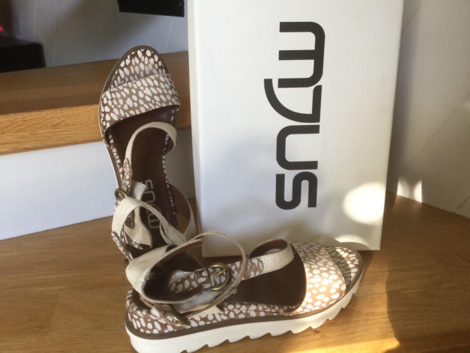 Chaussures Chaussures Chaussures Mjus sandales Corda Bianco beige blanc taille 39 parfait état ad8822