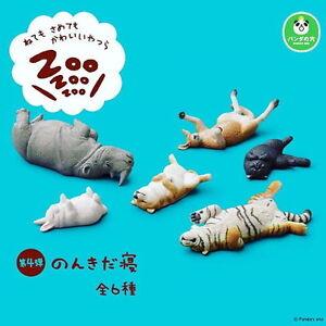 Takara Tomy Panda's ana Zoo Zzz Sleeping Animal Collection P4 Completed Set 6pcs