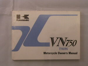 KAWASAKI-VN750-VN750-A2-1985-OWNERS-OWNER-OWNER-039-S-MANUAL