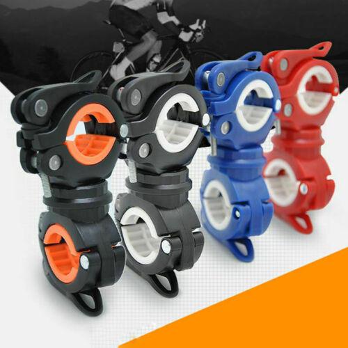 Bike Handlebar Torch Holder Bicycle Mount Bracket Clamp for LED-Flashlight Sport