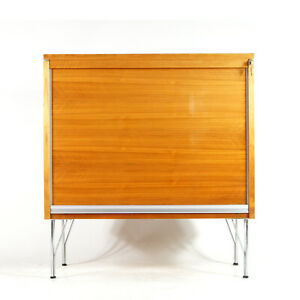 Retro-Vintage-Danish-Design-Teak-Sideboard-Office-Filing-Cabinet-Storage-60s-70s