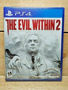 The Evil Within 2 (Sony PlayStation 4, 2017) PS4 Video Game NIB Unopened NTSC