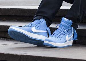 nice shoes e2885 3e321 Image is loading Air-Force-1-Retro-HI-QS-Baby-Blue-