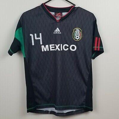 ADIDAS YOUTH SOCCER MEXICO Chicharito #14 JERSEY Mexico Men SZ XS Boys XL