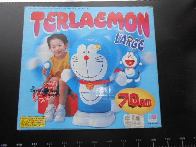 Gonfiabile Doraemon Inflatable Terlaemon anime Radio Control BIG 70 cm