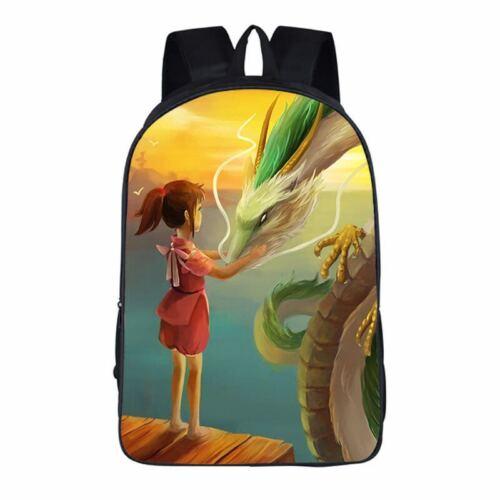 UK Backpack School Bags Japan Cartoon Satchel Rucksack Travel Laptop Kids Gift
