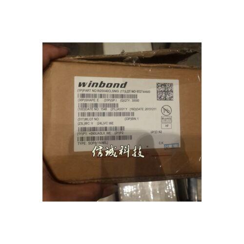 5PCS X Winbond W25X40CLSNIG 25X40CLNIG SOP-8