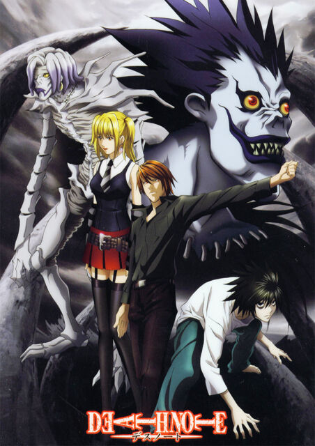 DEATH NOTE ANIME LARGE HQ POSTER, VARIOUS SIZES FROM A3,A4