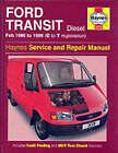 Ford Transit Diesel (1986-99) Service and Repair Manual by R. M. Jex, John S. Mead (Hardback, 1995)
