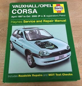 Haynes-Vauxhall-Corsa-Manual-3921-1997-2000-Haynes-3921-Hardback