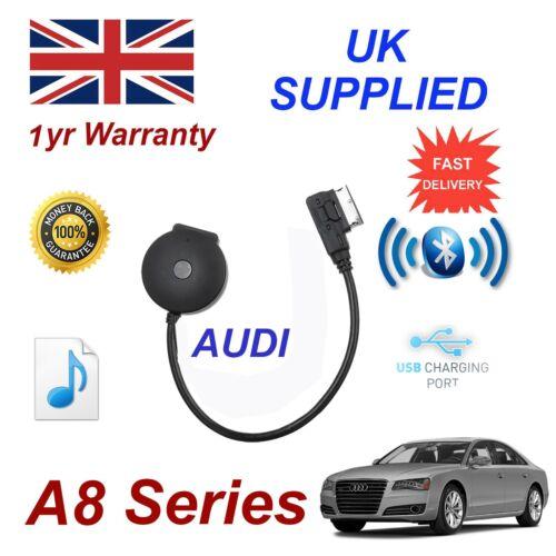 Para AUDI A8 transmisión de música Bluetooth Módulo USB MP3 iPhone HTC Nokia LG Sony 09