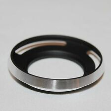 40.5mm Metal wide angle lens hood for SONY 16-50mm & Samsung 20-50mm (Silver)