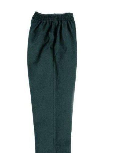 BNWT Boys Dark Grey School Elastic waist pull-up Trousers 7//8 years