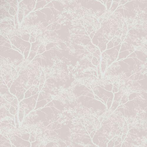 Holden Decor 65400 Glitzer Metallisch Flüstern Bäume Tapete Altrosa