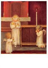 "vintage blank greeting cards ARS SACRA artist Spötl"" holy angel ""3685"""