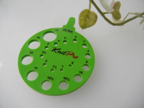 Envy KnitPro nadelmaß circa in verde o dell/'avorio Ivy