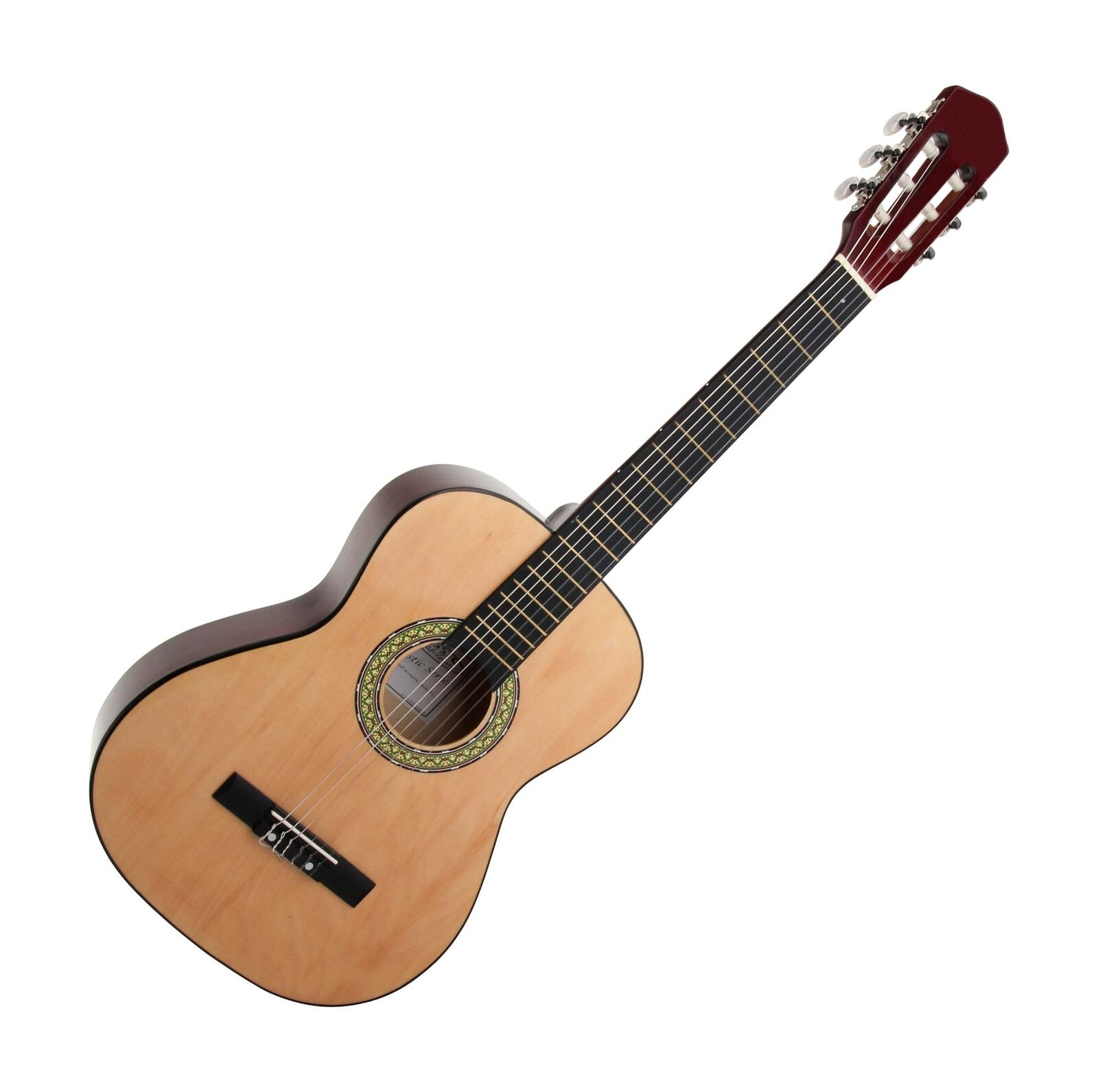 CLASSIC CANTABILE WOODEN ACOUSTIC GUITAR 3/4 SIZE CLASSICAL GUITAR GUITAR GUITAR NYLON STRINGS 239e2d