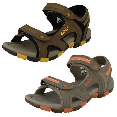 Childrens Hi-Tec Casual Hook And Loop Sandals GT Strap Sandals