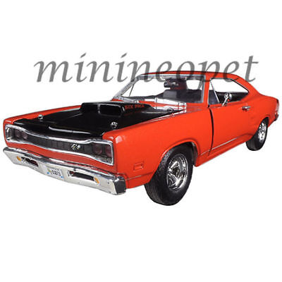 MOTORMAX 73315 1969 69 DODGE CORONET SUPER BEE 1/24 DIECAST MODEL CAR  ORANGE | eBay