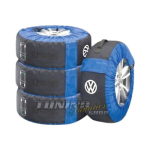 Wheel-Covers-Storage-Alloy-Wheels-Tyre-4x-Original-VW-Tyre-Bags