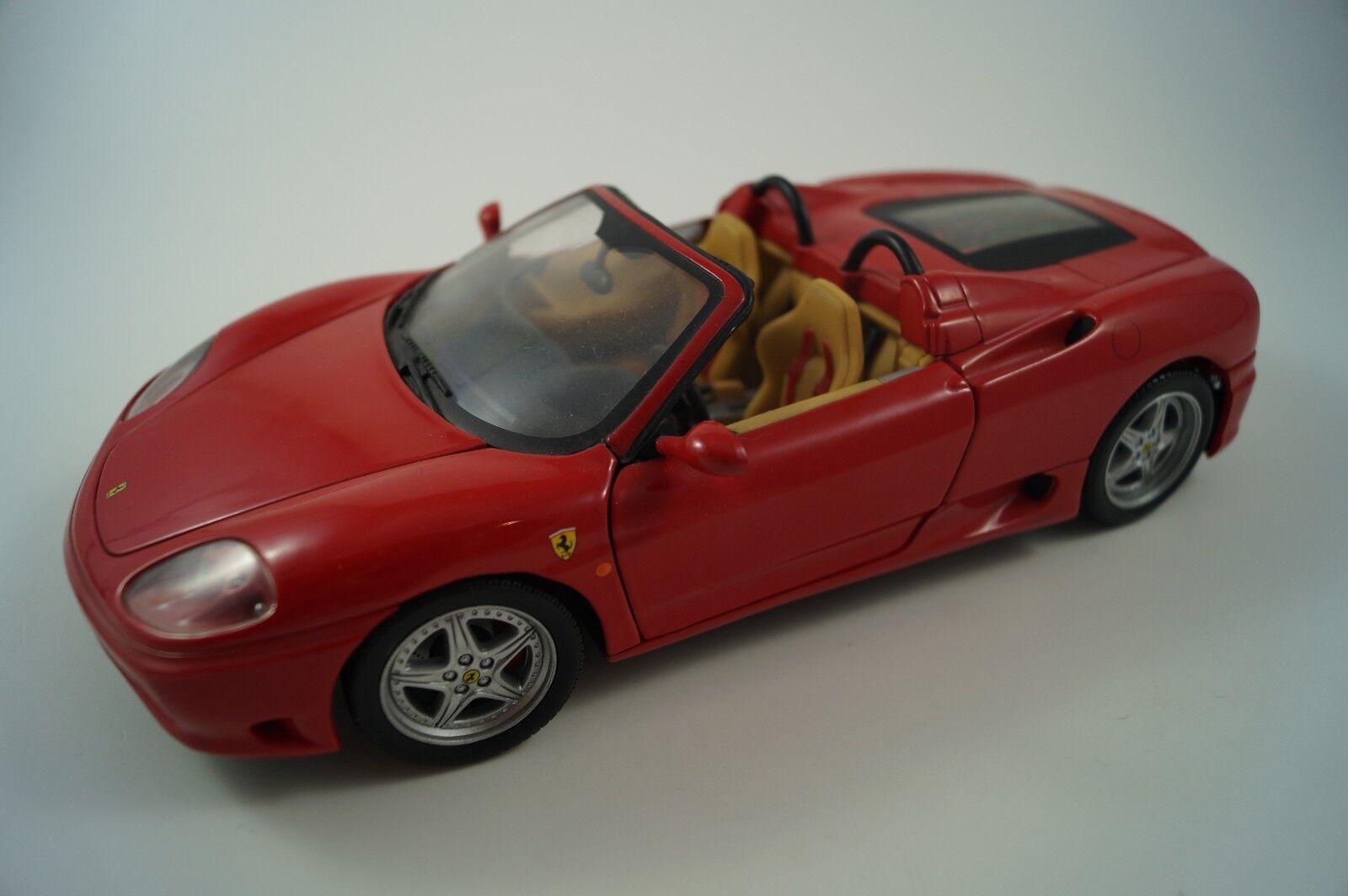 Hot Wheels Modellauto 1 18 Ferrari 360 Spider  |  Neuer Markt