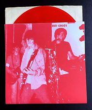 """RED CROSS 1979-82 7"""" RED VINYL Redd Kross Circle Jerks Black Flag Germs KBD NEW"""