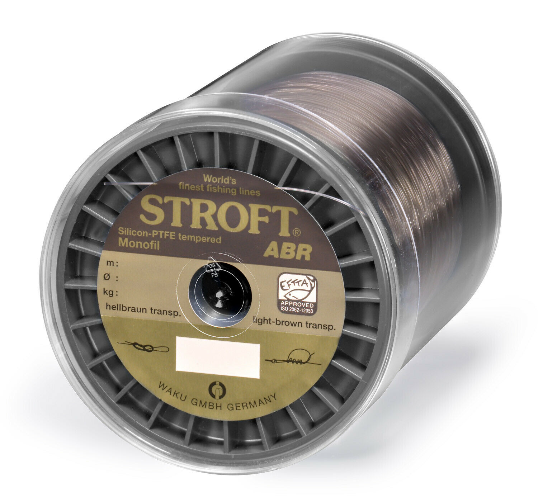 Schnur STROFT ABR Monofile 2000m 0,450mm-17,5kg hellbrown transparent ( m)