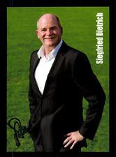 Siegfried Dietrich Autogrammkarte 1. FFC Frankfurt 2013-14 Original + A 135642