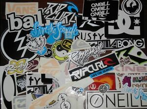 Surf-Stickers-Pack-surfing-stickers-like-RipCurl-RustyBillabong-Volcom-DCVansVZ