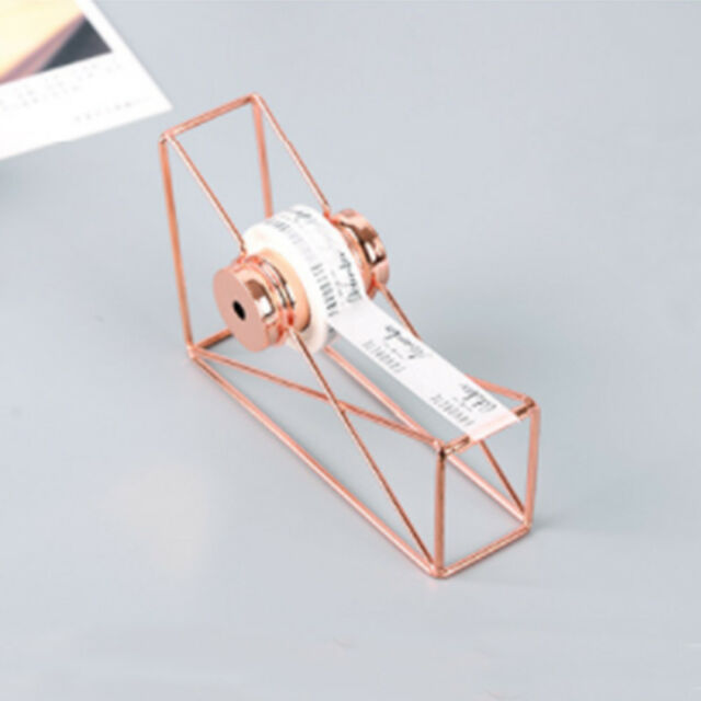 1Pc Portable Chic Hollow Tape Cutter Dispenser Stationery School Supplies A