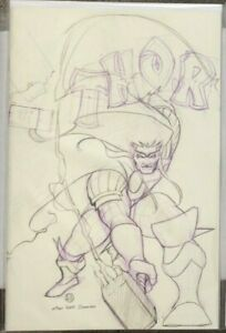 Thor-6-Peach-Momoko-Virgin-Sketch-Variant-337-Homage-NM-In-Hand