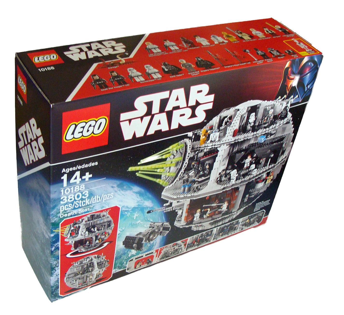 Lego stjärnornas krig 10188 - Todestern 3803 Teile 14 Neu  New