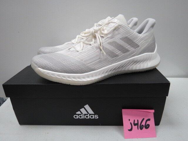 Adidas Harden Men's James Harden Basketball shoes White Grey AQ0033 sz 13.5 J466