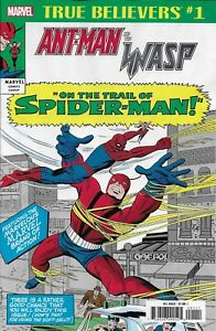 Details about Ant-Man And The Wasp On The Trail Of Spider-Man Comic Issue 1  Classic Reprint