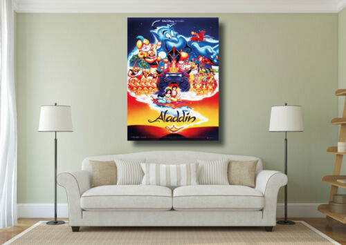 A0 A1 A2 A3 A4 Aladdin Movie Poster Kids Classic Cinema Large Wall Art Print