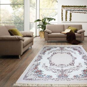Details zu Brillant Teppich 130 cm x 190 cm / top Qualität / rutschfest /  waschbar / antik