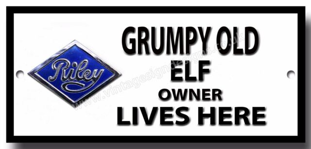 RILEY ELF METAL SIGN